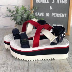 Tommy Jeans Neoprene Platform Sandal